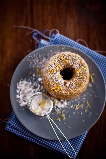 torta zenzero e cannella al profumo di limone /  lemon fragrance cake with ginger & cinnamon
