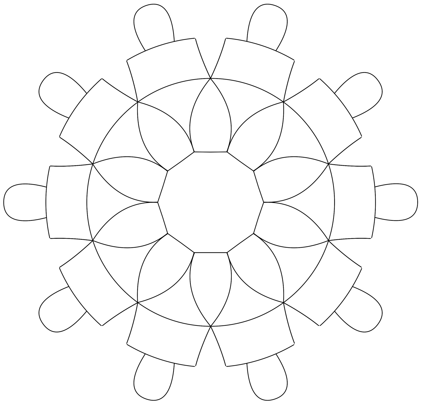 Dove Outline Template Here is this week's template: