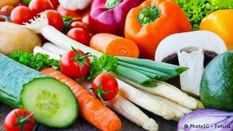 Aliméntate con Verduras