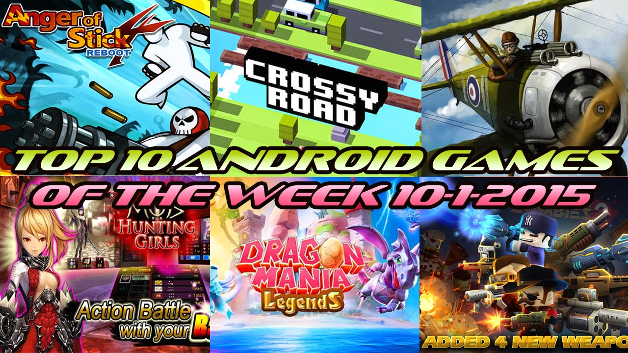 TOP 10 BEST NEW ANDROID GAMES OF THE WEEK - 10th January 2015