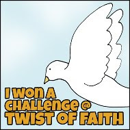 WINNER @ Twist of Faith Cards.