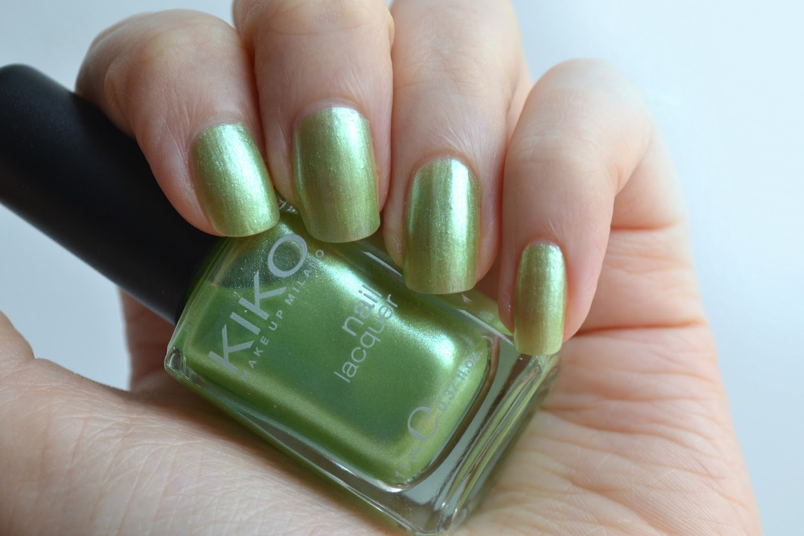 Imogen\'s Typewriter.: Beauty Review: KIKO Nail Lacquer in Lime Green
