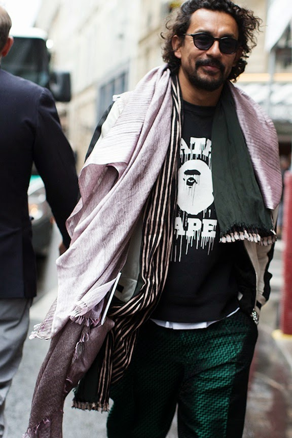 Haider Ackermann, Paris via thesartorialist