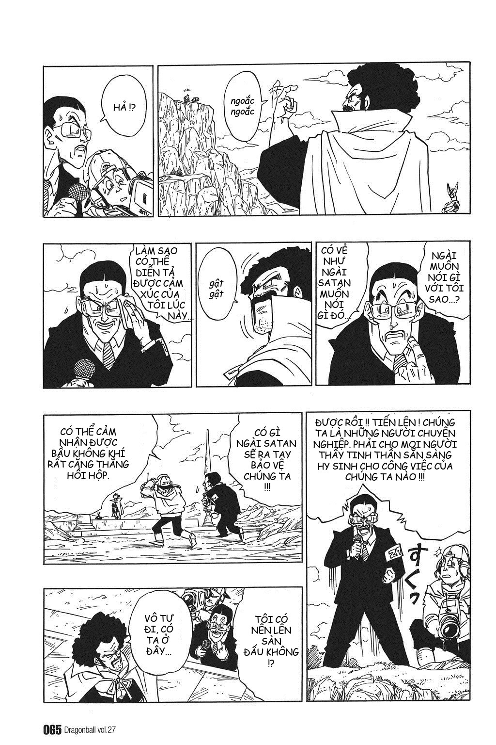 xem truyen moi - Dragon Ball Bản Vip - Bản Đẹp Nguyên Gốc Chap 395