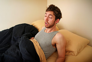 I said my ex girlfriend's name in my sleep! Help! (Photo: valleysleepcenter.com)