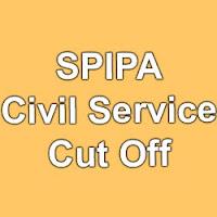 Gujarat SPIPA Cut off marks 2015