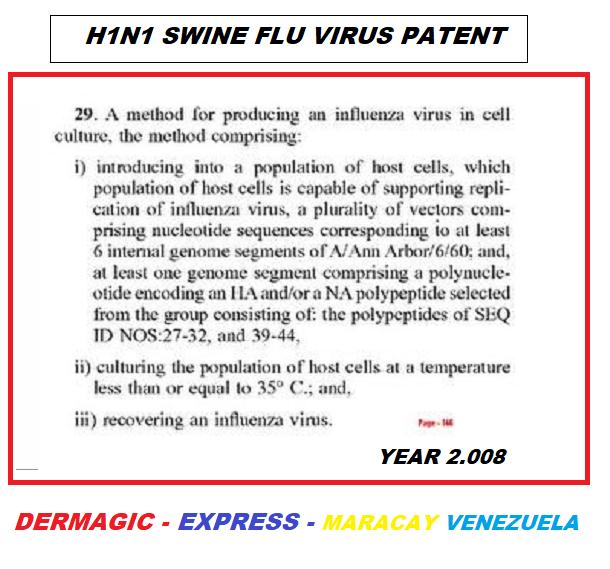 H1N1 SWINE FLU VIRUS X-FILES.