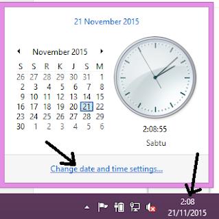 tanggal dan jam