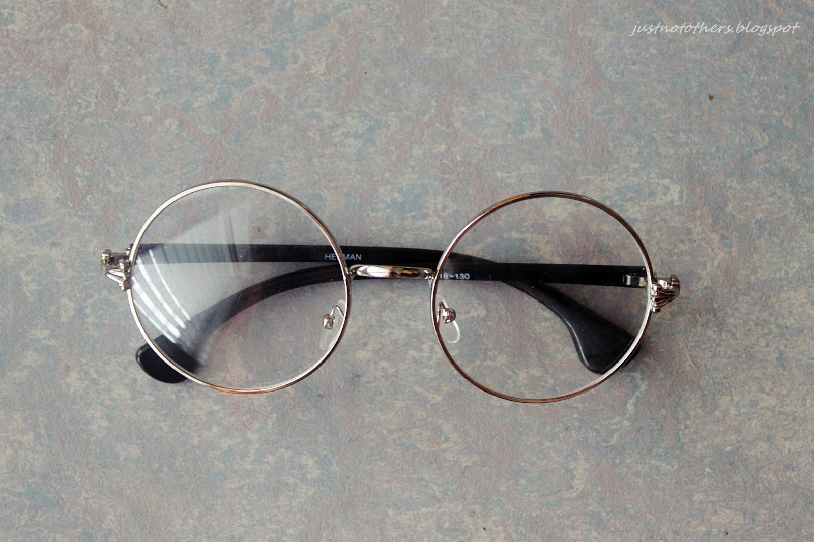 oversized circle glasses