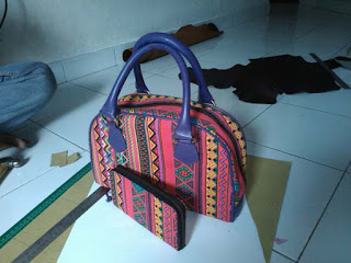 cara membuat dompet dan tas wanita