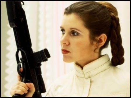 """Leia Organa en """"El imperio contraataca"""" (1980)"""