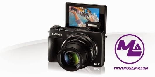 كاميرا كانون PowerShot G1 X Mark II مميزاتها وخصائصا