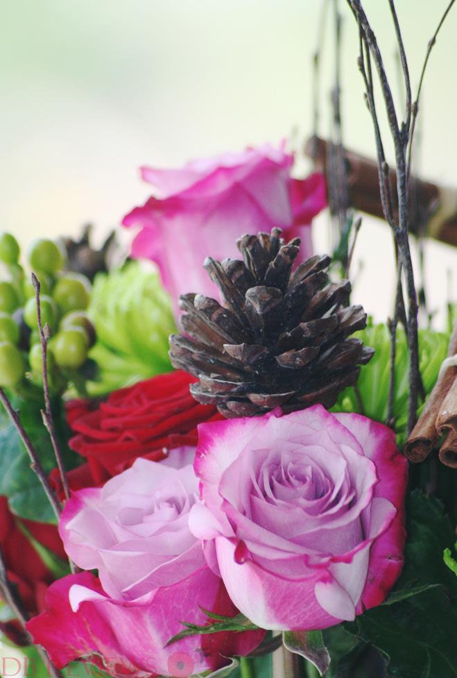 Christmas Flowers Bouquet from Prestige Flowers Haute Florist Range, Review