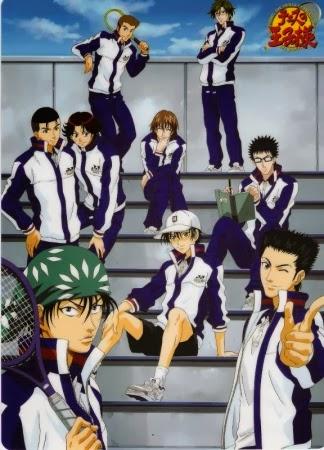 Imagem ilustrativa do anime Prince of Tennis