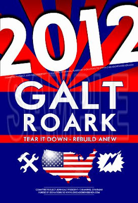 Galt Roark 2012 Campaign Poster