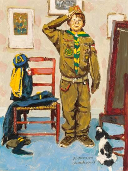 Roughing It: Norman Rockwell