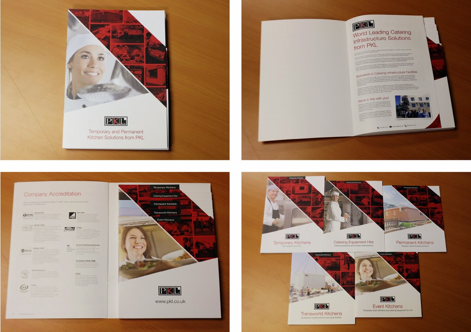 PKL Hire Guide Brochures