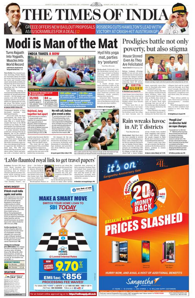 online english papers india India epapers: read your indian news papers easily just choose your favorite indian local epaper and click on epaper link to get the latest newspaper.