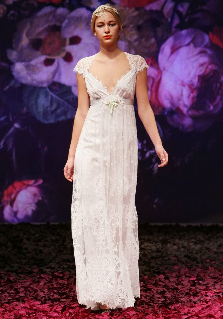 Minuet Wedding Dress - Claire Pettibone
