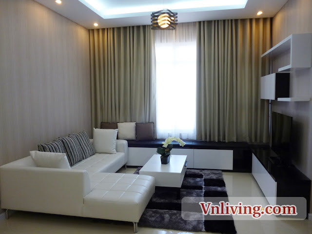 2 Bedrooms Saigon Pearl Apartment For Rent Beautiful Furnish