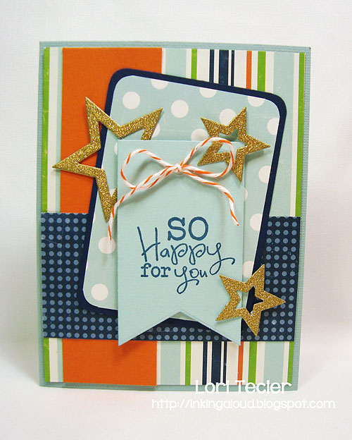 So Happy for You card-designed by Lori Tecler/Inking Aloud-stamps from Verve Stamps