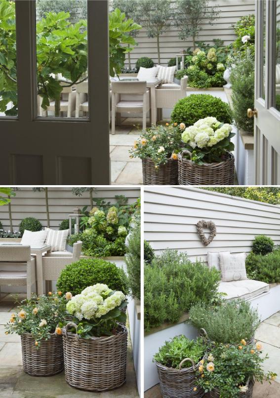 Gezellig kleur sfeeradvies b v kleur sfeer garden pinterest - Outdoor tuin decoratie ideeen ...