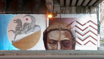 """Street Art, l'arte del """"graffito"""" *galleria d'arte """"en plain air"""" tra Testaccio e il quartiere Ostiense"""