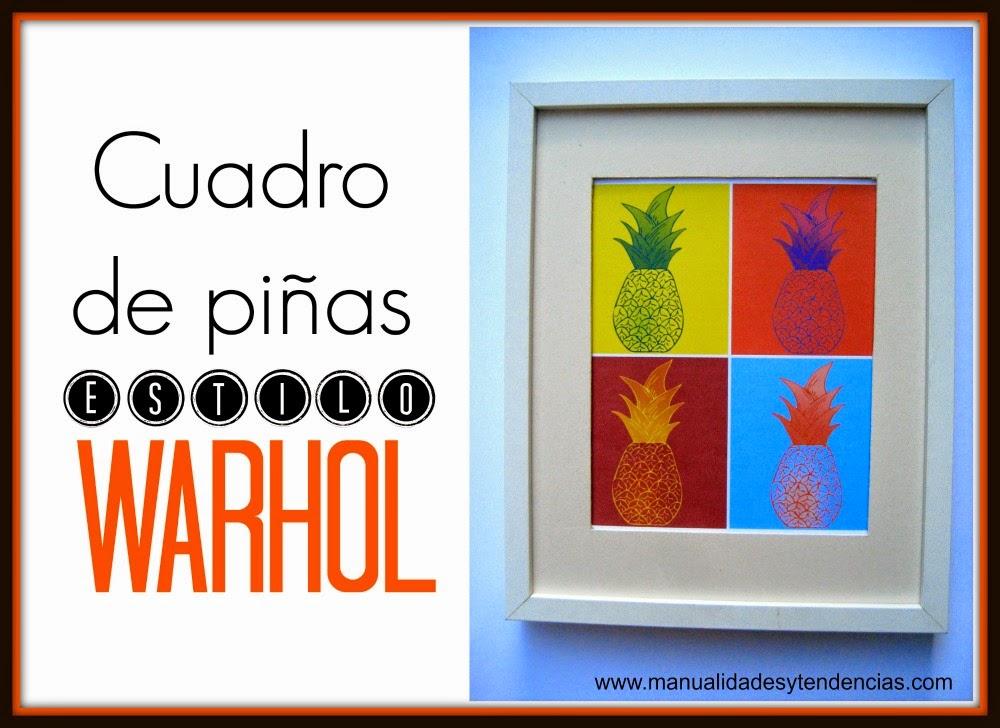 imprimible gratis estilo Warhol / Warhol's style free printable