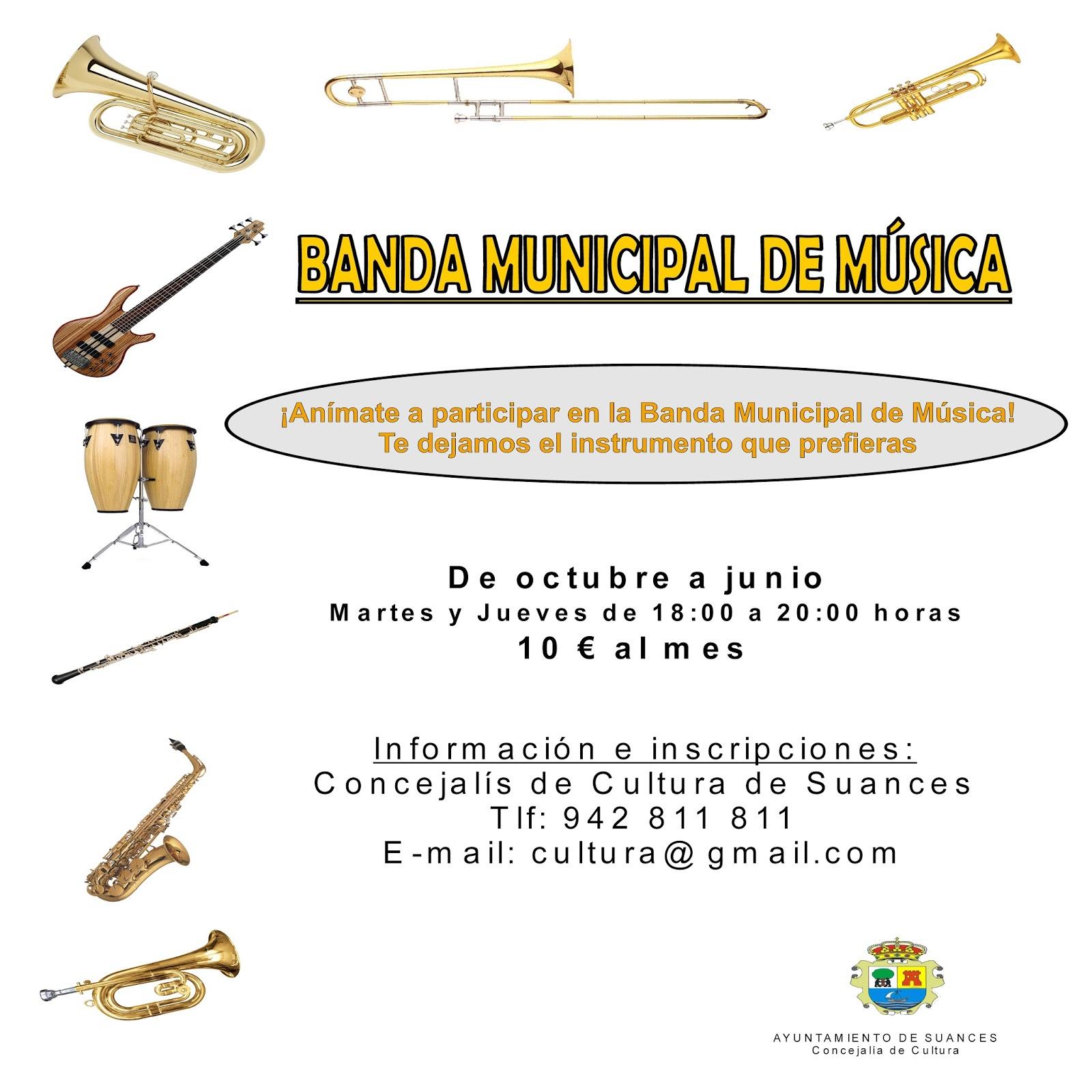 CULTURA EN SUANCES: EL TALLER MUNICIPAL DE MÚSICA Y LA BANDA ...