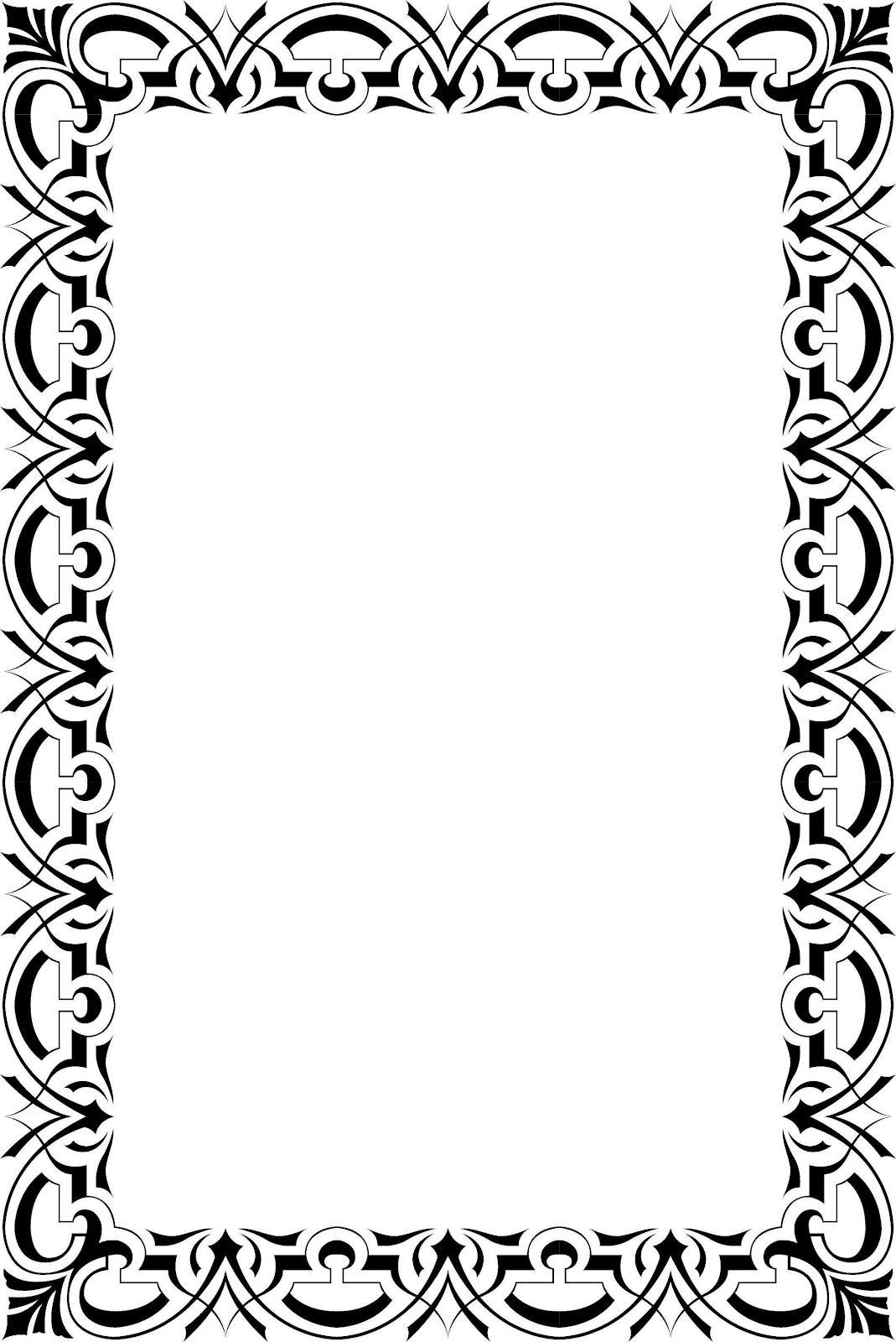 Polka Dot Border