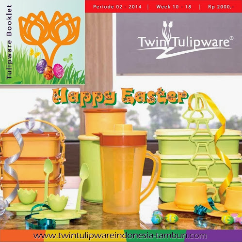Booklet - Katalog Twin Tulipware Maret - April 2014