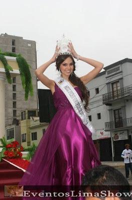 Miss Peru Universe 2011 Natalie Vertiz