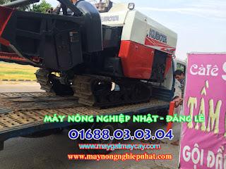 báo giá bán máy gặt liên hợp kubota dc70g dc70 thái lan cũ bãi đi cao lộc lạng sơn