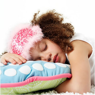 image of girl sleeping
