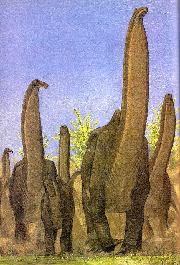 Vintage Dinosaur Art: Dinosaurs! The 1987 Childcraft Annual - Part 2