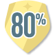 NetGalley 80% Badge