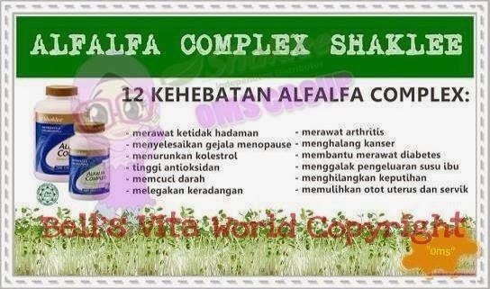 kebaikan alfafa