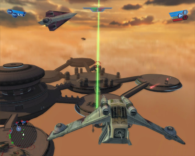 Star Wars: Battlefront Bespin Platforms