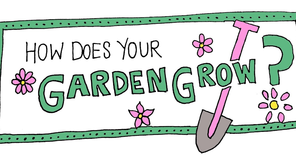 Image result for how does your garden grow clipart
