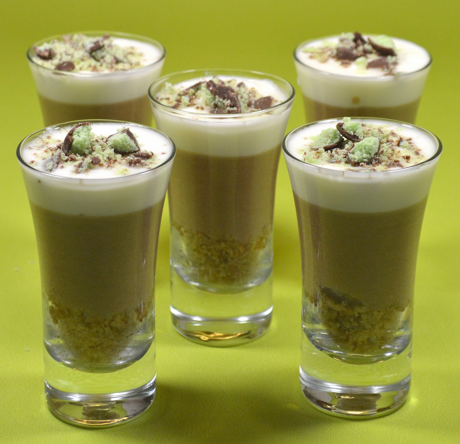 Kitchen Delights: Recipe: Chocolate Mint Aero Mousse