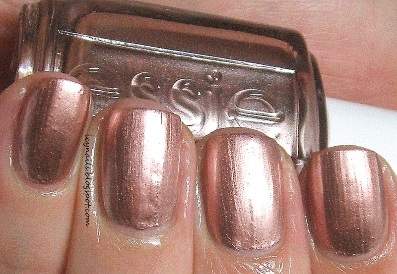 Essie Mirror Metallic in Penny Talk: Swatch and Review - Notes from ...