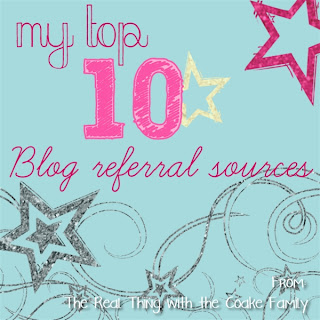 My 10 Top referral sources