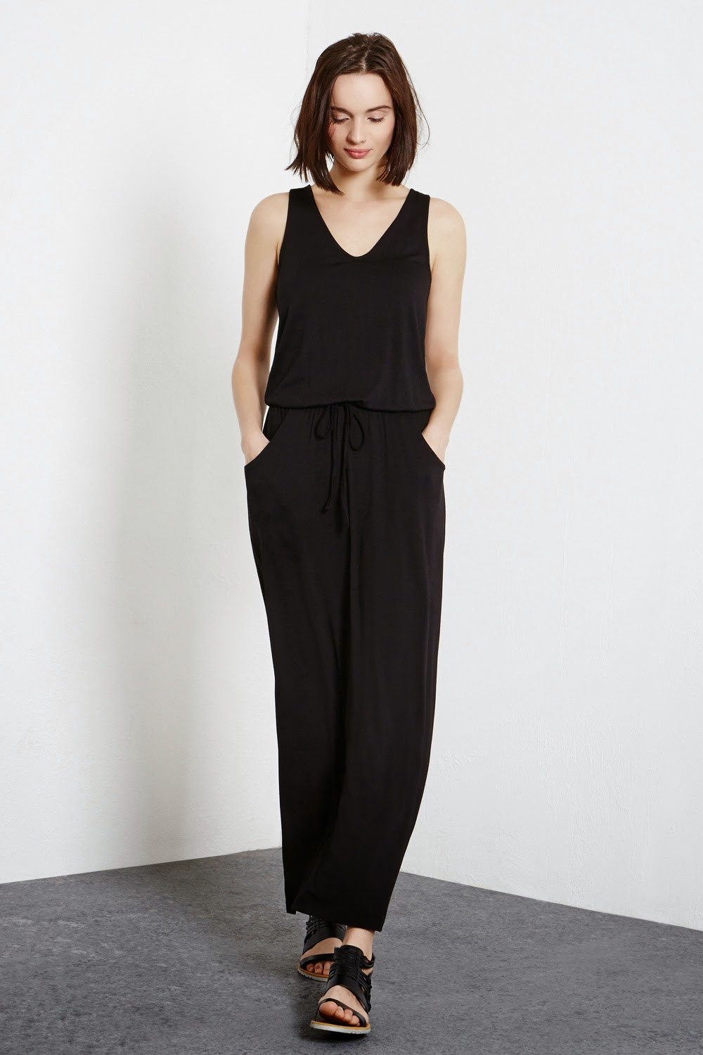 warehouse black maxi dress,
