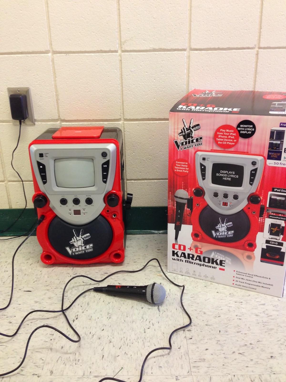 the voice karaoke machine
