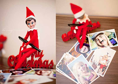 By Evy Photography, Elf on shelf - www.byevy.com