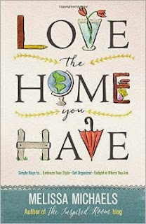 Operation Organization by Heidi ( Peachtree City Professional Organizer ) :: Book Review of Love the Home You Have by Melissa Michaels - Book Cover