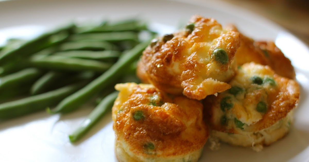 mamacook: Mini Pea and Feta Frittatas for Babies and Toddlers
