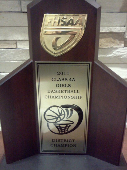 LEESBURG LADY JACKETS 2011 CLASS 4A DISTRICT 5 CHAMPIONS!