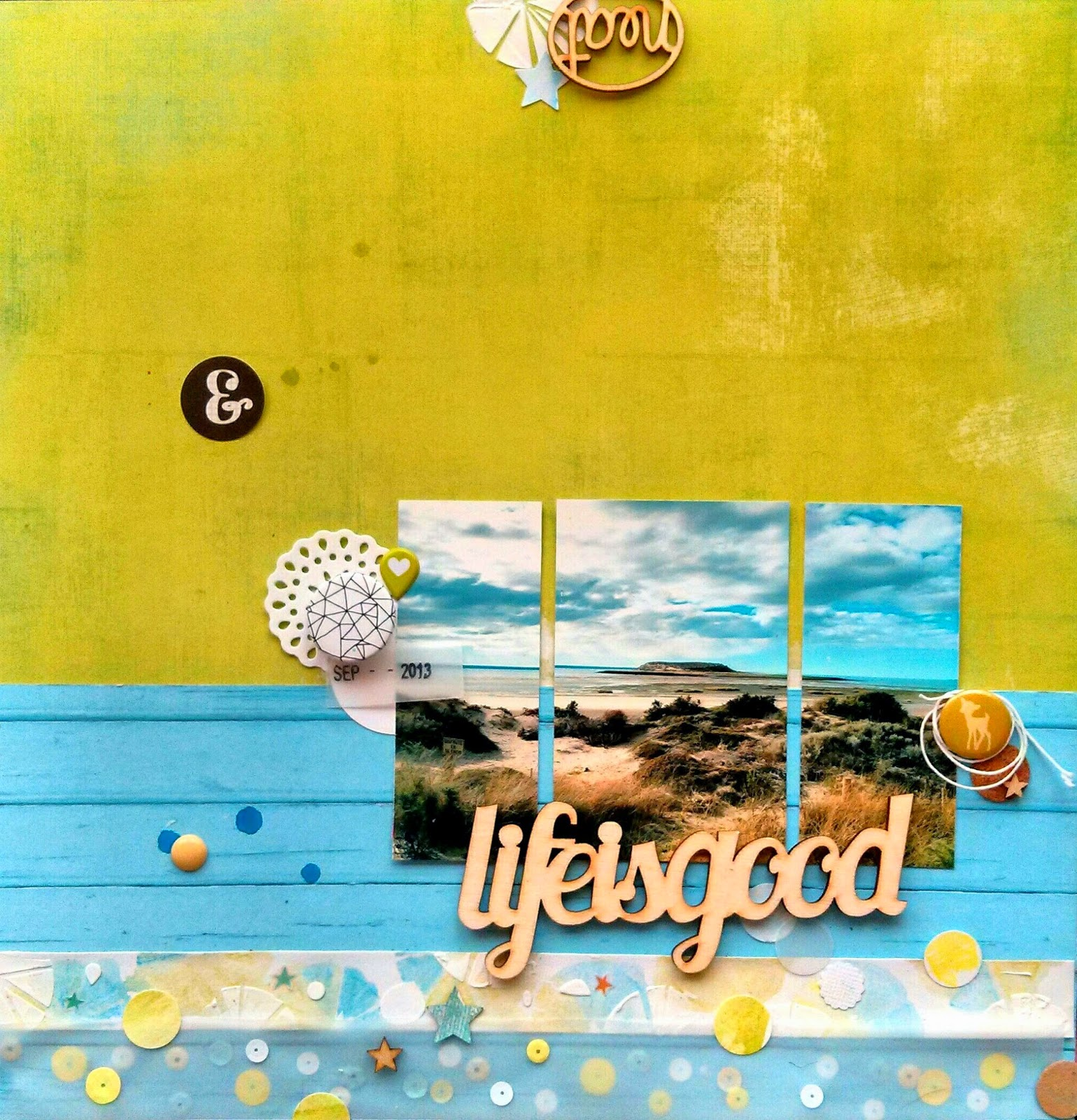 Layout scrapbooking: Argentina