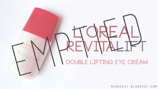 L'oreal RevitaLift Double Lifting Eye Cream